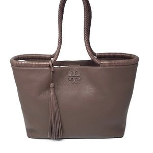 Brand New Tory Burch Leather Large Leather Tote